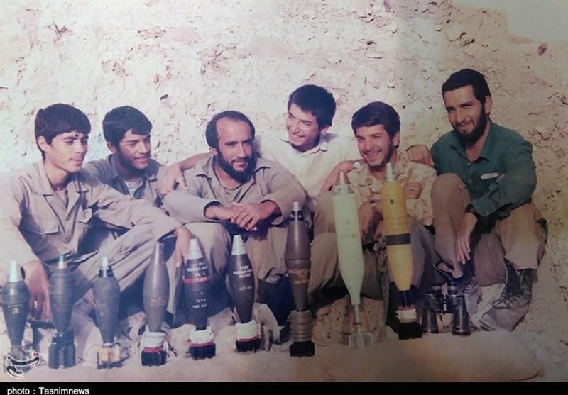 سردار شهید مدافع حرم در قامت هشت سال دفاع مقدس+ تصاویر