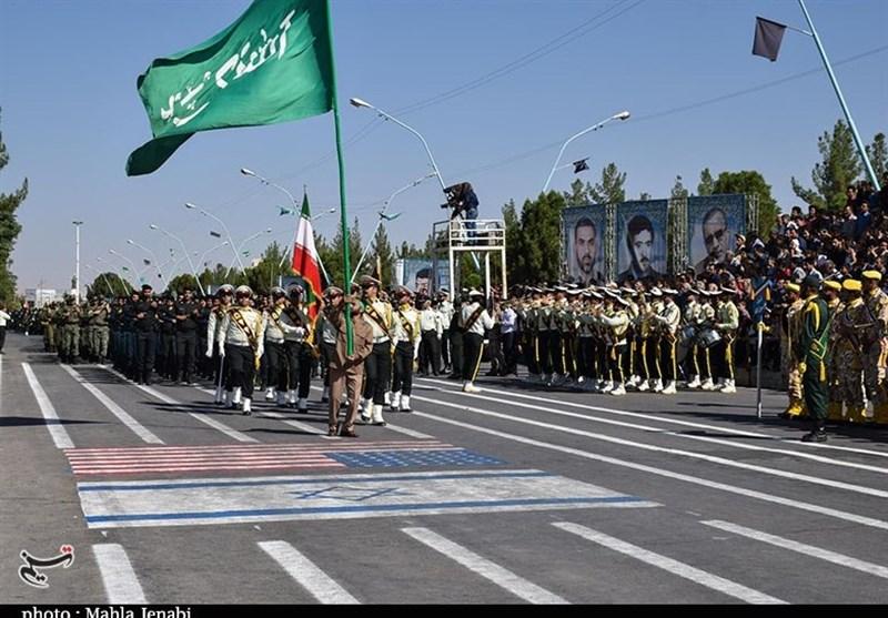 رژه اقتدار نیروهای مسلح استان کرمان به روایت تصاویر