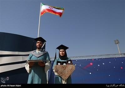 آیین استقبال از نودانشجویان دانشگاه تهران