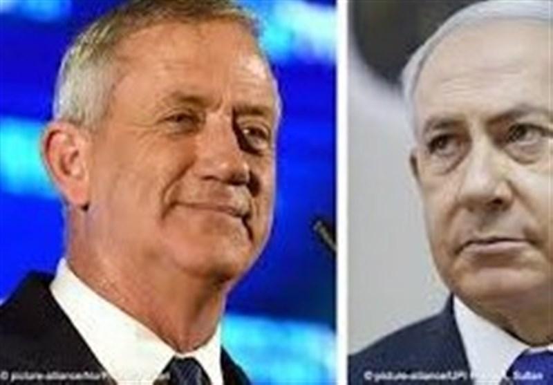 رژیم اسرائیل مذاکرات محرمانه میان نتانیاهو و گانتس/ دومین دیدار امشب برگزار میشود