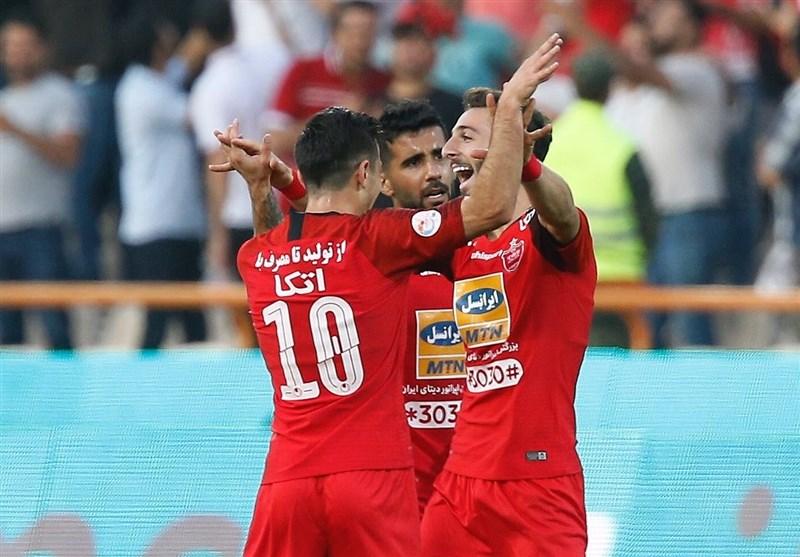 لیگ برتر فوتبال| برتری پرسپولیس برابر استقلال با تعویض طلایی و دستهای بیرانوند/ سرمای پاییز با دربی 90 شروع شد