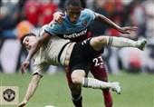 لیگ برتر انگلیس| شکست منچستریونایتد در خانه وستهام
