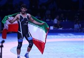 Hassan Yazdani among Top 10 at 86 UWW Ranking