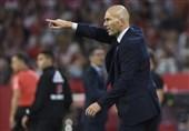 زیدان: برد مقابل سویا بهترین بازی رئال مادرید از زمان بازگشت من بود