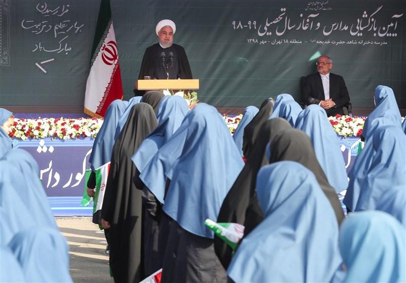روحانی: حقوق معلمان چهار برابر افزایش یافته است