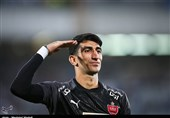 Alireza Beiranvand Shortlisted for AFC Player of Year