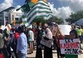 امریکا میں مودی کے خلاف احتجاج، شدید نعرے بازی + تصاویر