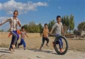 بازیهای بومی و محلی ارومیه اندرخم کوچههای فراموشی +تصاویر
