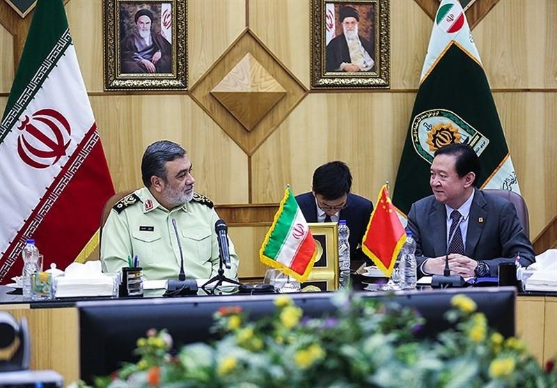 آمادگی پلیس ایران برای همکاری با چین در برخورد با جرایم سازمانیافته