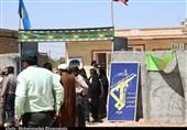 اخبار رزمایش|حضور فرماندهان نیروی زمینی سپاه در بین مردم محروم خوزستان