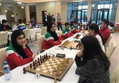 شطرنج سریع و برقآسای زیر 17 سال جهان| ایران با 4 پیروزی در رده دوم قرار گرفت