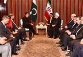 وزیراعظم عمران خان اور صدر حسن روحانی کی ملاقات