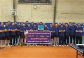 برگزاری کلاس مربیگری سطح یک جهانی تنیس روی میز به میزبانی سازمان تربیت بدنی ارتش