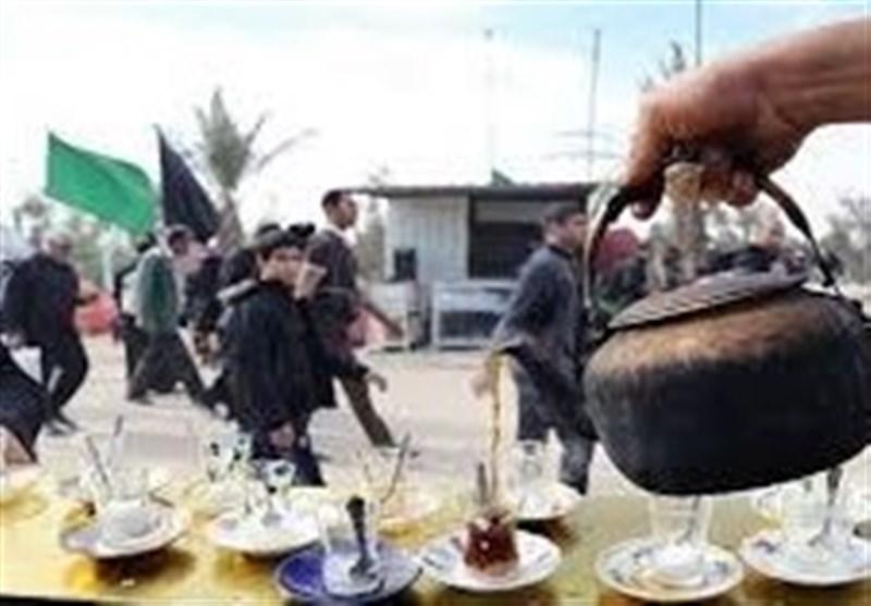 قزوینیها 226 هزار پرس غذای گرم بین زائران حسینی توزیع میکنند