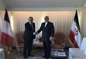 دیدار ظریف با وزرای خارجه فرانسه و استرالیا