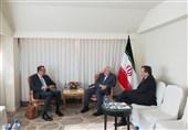 دیدار ظریف و مدیرکل موقت آژانس بینالمللی انرژی اتمی در نیویورک