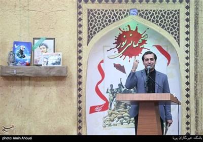 شعر خوانی حمیدرضا برقعی در یادواره ۲۶۶ شهید محله ستارخان