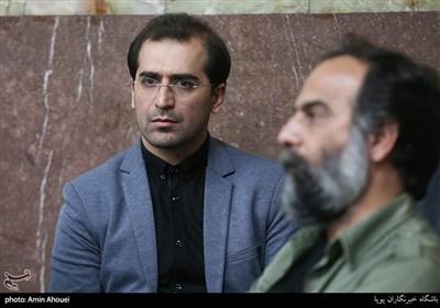 حمیدرضا برقعی در یادواره ۲۶۶ شهید محله ستارخان
