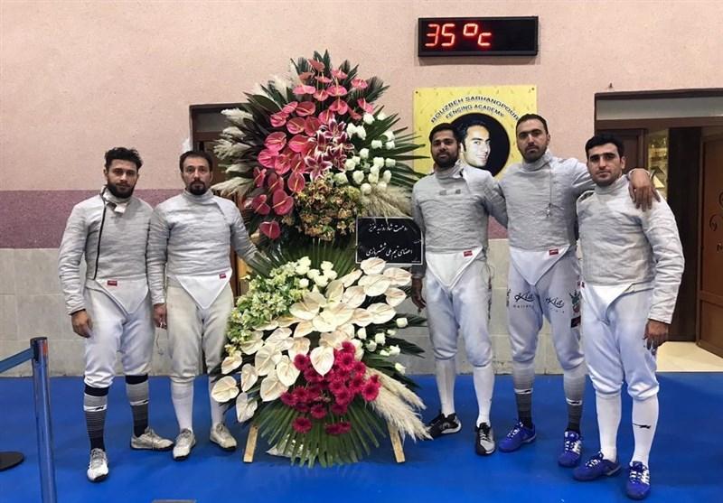 جایزه 3 هزار دلاری مسابقات بینالمللی شمشیربازی به محمد رهبری رسید