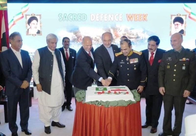 گرامیداشت هفته دفاع مقدس توسط سفارت ایران در پاکستان