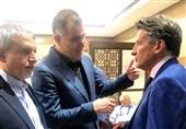 دیدار صالحیامیری با رئیس فدراسیون جهانی دوومیدانی