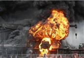 2 نفتکش در یکی از بنادر کره جنوبی آتش گرفتند