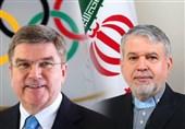دیدار صالحیامیری با رئیس کمیته بینالمللی المپیک/ باخ: اتفاقات اخیر جودو نباید سیاسی شود