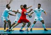 دیدار تیمهای هندبال ایران و عراق - اصفهان