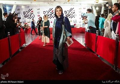 نیوشا ضیغمی در اکران خصوصی فیلم سینمایی درخونگاه در پردیس ملت