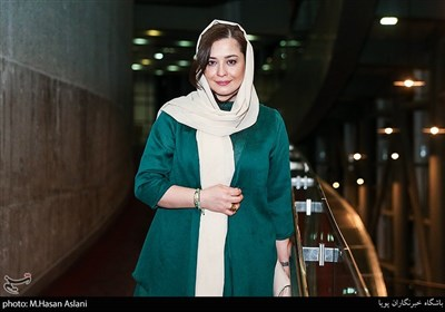 مهراوه شریفی نیا در اکران خصوصی فیلم سینمایی درخونگاه در پردیس ملت