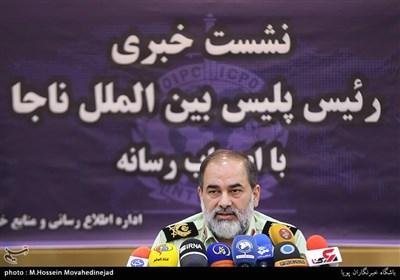 سردار هادی شیرزاد رئیس پلیس بین الملل ناجا