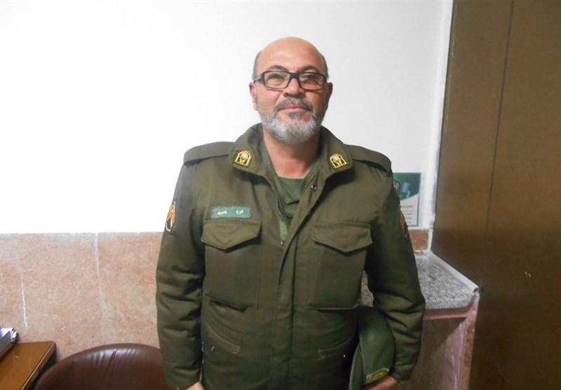 مسنترین سرباز ناجا تقدیر شد