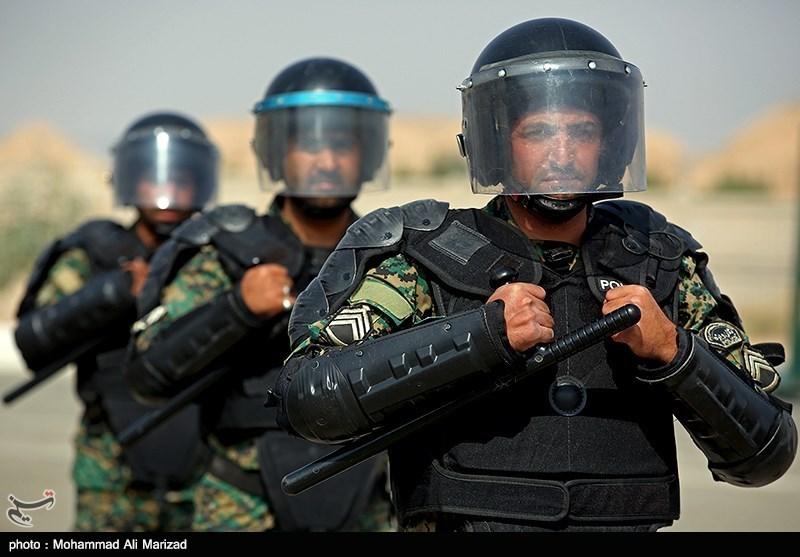 تمرین نوپو و یگان ویژه نیروی انتظامی-قم