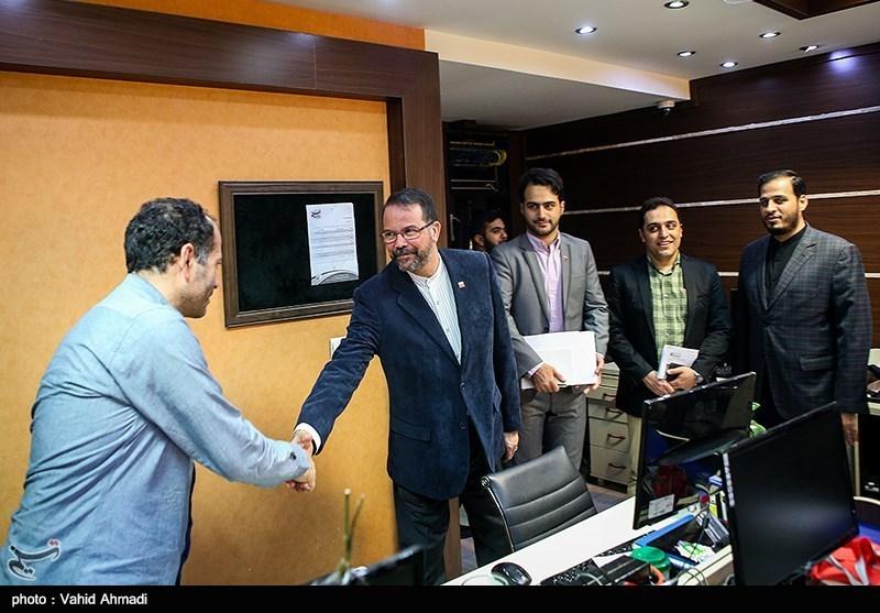 حضور سفیر ونزوئلا در خبرگزاری تسنیم