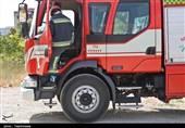 مانور اطفای حریق آتش نشانی در بجنورد به روایت تصاویر