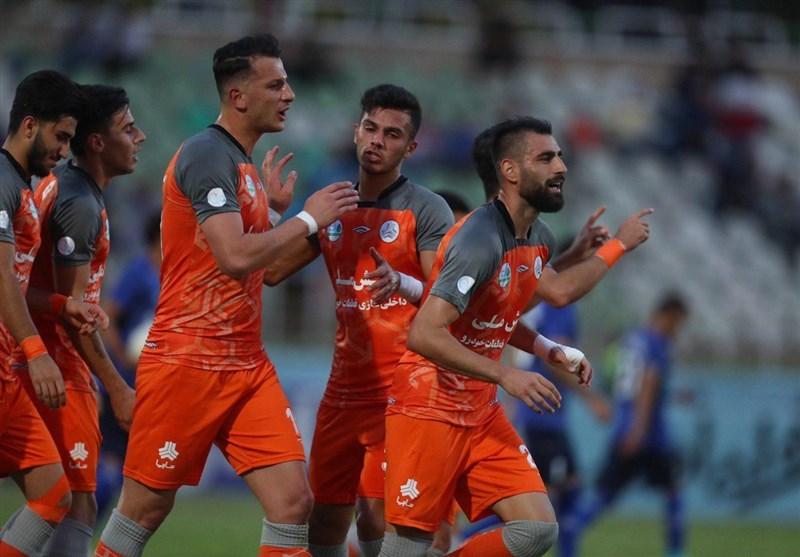جام حذفی فوتبال| پیروزی سایپا مقابل داماش در نیمه نخست