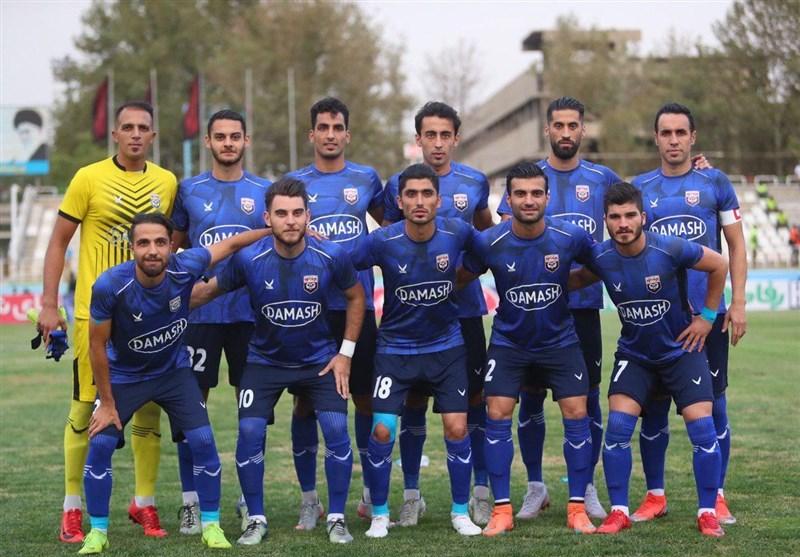 لیگ دسته یک فوتبال باشگاههای ایران| تساوی داماش گیلانیان در مقابل نود ارومیه