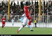 لیگ برتر فوتبال| تساوی، حاصل تلاش تراکتور و شاهین در 45 دقیقه اول