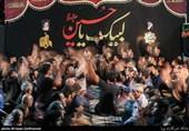عزاداری شب آخر محرم در مسجد جامع امام سجاد (ع)
