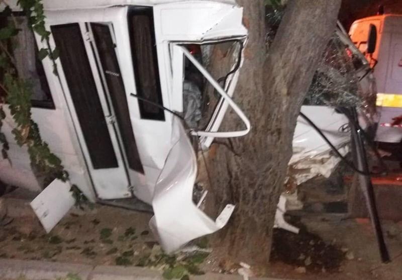 اخبار اربعین 98| 9 مصدوم و یک کشته در حواث جادهای محور ایلام ـ مهران 