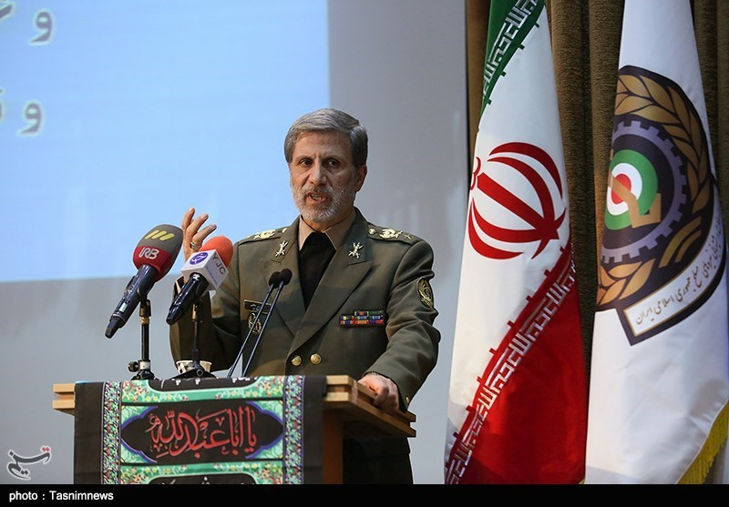 Boosting Iran's Defense Power Only Way to Counter US Sanctions: Minister