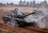 رزمایش گسترده نظامیان روسیه در نزدیکی سنپترزبورگ + فیلم