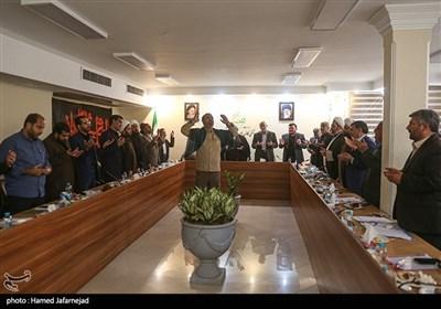 مداحی و دکلمه خوانی آستانه اربعین حسینی در نشست کارگروه مردمی اربعین