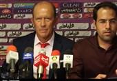 تبریز| کالدرون: از فرصتهای خود استفاده نکردیم و بازی پیچیده شد/ بازیکنان ماشینسازی مدام به دنبال اتلاف وقت بودند