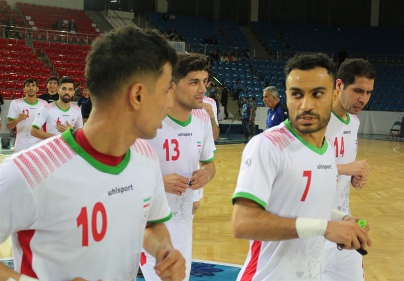 Iran Futsal Still Fifth in World Ranking
