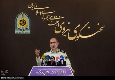 سردار احمد نوریان سخنگوی نیروی انتظامی
