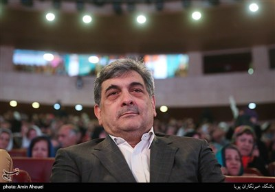 پیروز حناچی شهردار تهران در مراسم روز جهانی سالمند