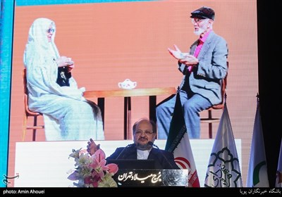محمد شریعتمداری وزیر کار در مراسم روز جهانی سالمند
