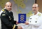فرمانده نیروی دریایی آذربایجان با فرمانده منطقه یکم نداجا در بندرعباس دیدار کرد