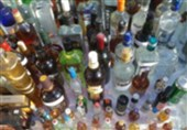 کشف 125 بطری مشروب الکلی خارجی در شمال پایتخت + تصاویر